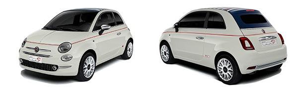 Modelo Fiat 500C Cabrio Dolcevita