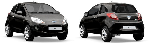 Modelo Ford Ka Black Edition
