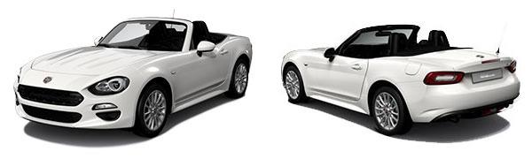 Modelo Fiat 124 Spider Cabrio -