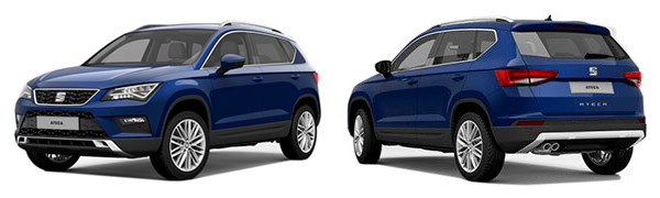 Modelo Seat Ateca Reference