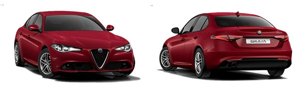 Modelo Alfa Romeo Giulia Giulia