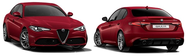 Modelo Alfa Romeo Giulia Veloce