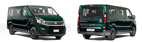 Modelo Fiat Professional Talento Combi 5p SX