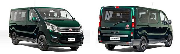 Modelo Fiat Professional Talento Combi 5p LX