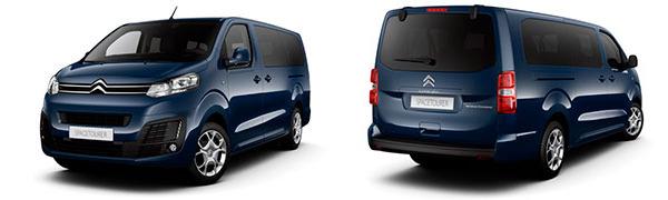 Modelo Citroën SpaceTourer 5p Shine
