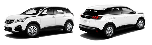 Model Peugeot 3008 SUV Active