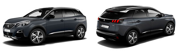Modelo Peugeot 3008 SUV GT Line