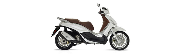 Modelo Piaggio New Beverly 300 ie