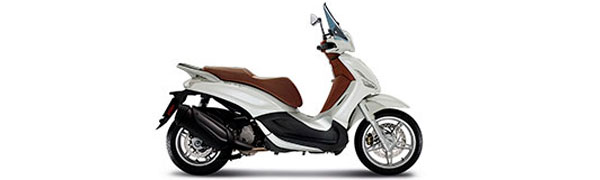Modelo Piaggio New Beverly 350 ie