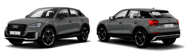 Modelo Audi Q2 #untaggable edition