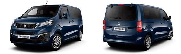 Modelo Peugeot Traveller Monovolumen 4p Business