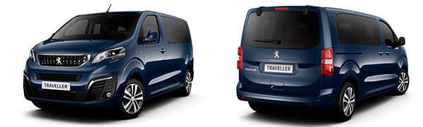 Modelo Peugeot Traveller Monovolumen 5p Allure