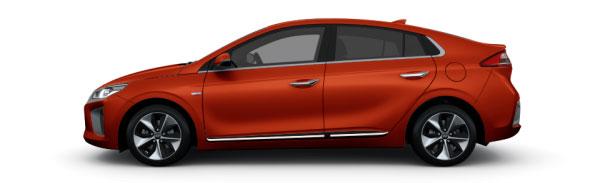 Modelo Hyundai Ioniq Klass