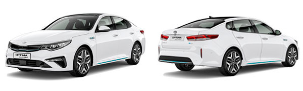 Modelo Kia Optima PHEV -
