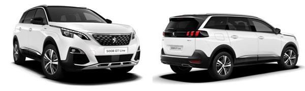 Modelo Peugeot 5008 SUV GT Line