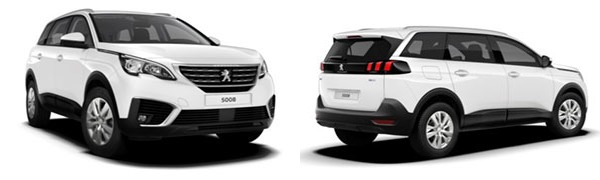 Model Peugeot 5008 Suv Active