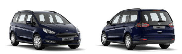 Modelo Ford Galaxy Trend