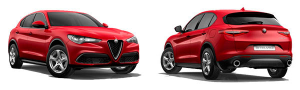 Modelo Alfa Romeo Stelvio Sprint