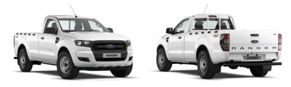 Model Ford Ranger Cabina Sencilla XL