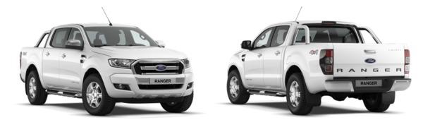 Modelo Ford Ranger Doble Cabina XLT Limited