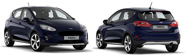 Modelo Ford Nuevo Fiesta 5p Active
