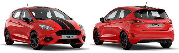 Modelo Ford Nuevo Fiesta 5p ST Line Red Edition