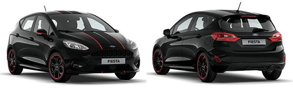 Modelo Ford Nuevo Fiesta 5p ST Line Black Edition