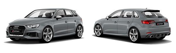 Modelo Audi RS3 Sportback -