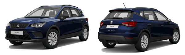 Model Seat Arona Reference Edition