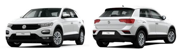 Model Volkswagen T-Roc Edition