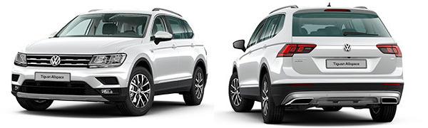 Modelo Volkswagen Tiguan Allspace Advance
