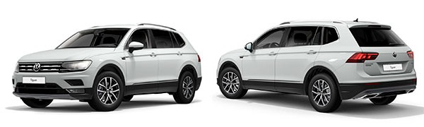 Model Volkswagen Tiguan Allspace Advance