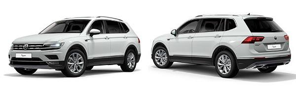 Modelo Volkswagen Tiguan Allspace Sport