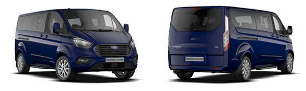 Modelo Ford Tourneo Custom Titanium