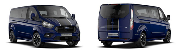 Modelo Ford Tourneo Custom Sport