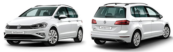 Model Volkswagen Nuevo Golf Sportsvan Sport