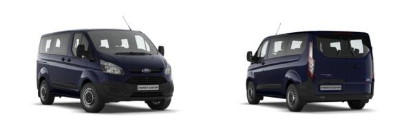 Modelo Ford Custom Kombi Ambiente