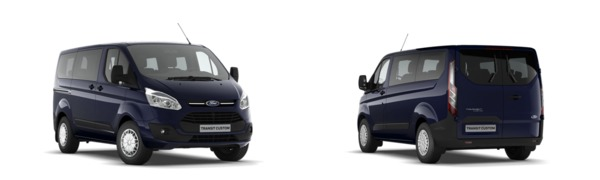 Modelo Ford Custom Kombi Trend
