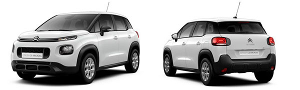 Modelo Citroën C3 Aircross Live