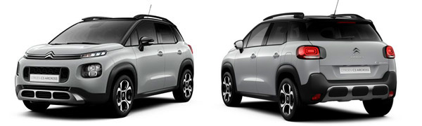Modelo Citroën C3 Aircross #InspiredBy