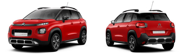 Model Citroën C3 Aircross Feel