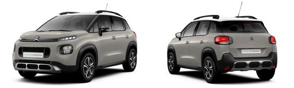 Modelo Citroën C3 Aircross Feel