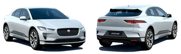 Modelo Jaguar i-Pace HSE