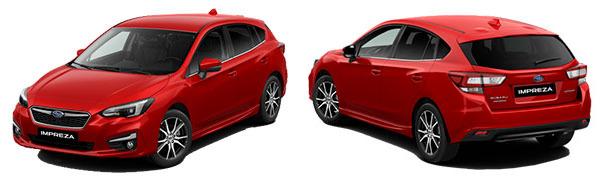 Modelo Subaru Impreza Executive
