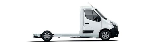 Modelo Renault Master Z.E. Cabina Plataforma -