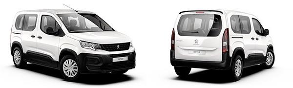 Modelo Peugeot Rifter 4p Access