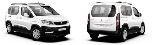 Modelo Peugeot Rifter 5p Active