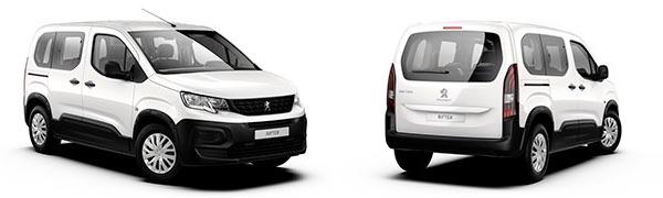Modelo Peugeot Rifter 5p Active Nav+
