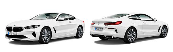 Modelo BMW Serie 8 Coupé -