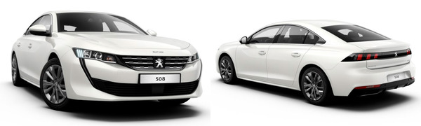 Modelo Peugeot Nuevo 508 Active